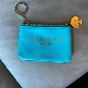 Kate Spade card holder key chain